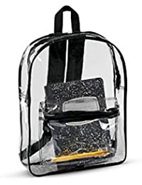 7010 Unisex Adult Clear Backpack PVC