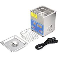 Homgrace Commercial Ultrasonic Cleaner with With Heater And Digital Control for Jewelry Watch Glasses Cleaner (1.3 L)