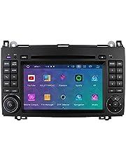 Android 10 7-inch autoradio GPS-navigatie Compatibel met Mercedes-Benz A-Klasse W169 B-Klasse W245V-Klasse W639 Sprinter 3000 VW Crafter 1 GB RAM 16 GB ROM Bluetooth 4.0 Radio USB WiFi CANBUS