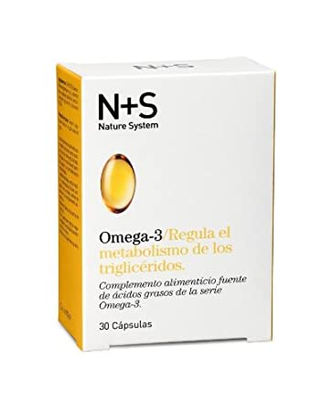 Amazon.com : Pack 2 X Ns N+s Nature System Cinfa Omega 3 30 ...