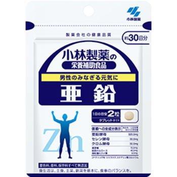 小林製薬 亜鉛 120粒(約60日分)×6個セット B073W99JSN
