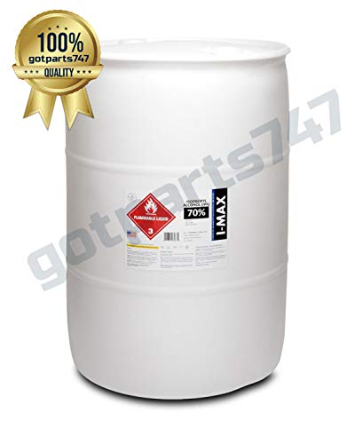 Isopropyl Alcohol - IPA 70% (55 Gallon Drum) LOWEST PRICE ONLINE. BEST QUALITY