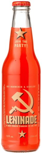 "Amazon.com : Leninade SURPRISINGLY SATISFYING SIMPLE SOVIET-STYLE SODA - ""Na Zdoroviye"", 12-Ounce Glass Bottle (Pack of 12) : Soda Soft Drinks : Grocery & Gourmet Food"
