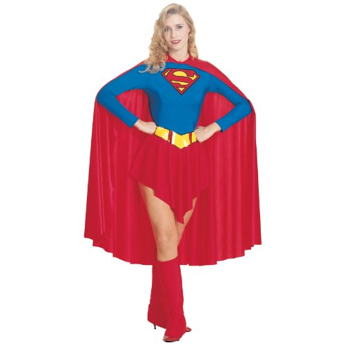 Adult's Womens Superman Supergirl Leotard Costume Size Small 6-10 for $<!--$32.99-->