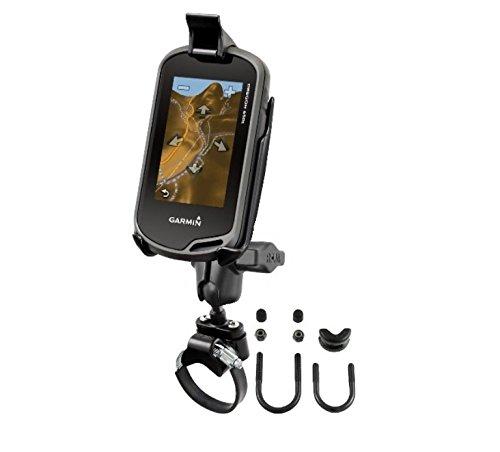 ATV UTV Short Arm Strap Handlebar Mount fits Garmin Approach G5 Oregon 200 300 400 450 550 600 & 650