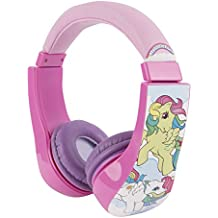 My Little Pony 30357-TRU Kid Safe Over the Ear Headphone w/ Volume Limiter, by Sakar