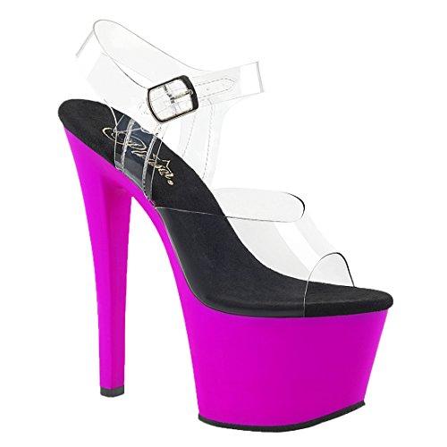 Sky Clr 308uv Neon Pleaser Viola 4w0x6Swq