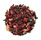 Hibiscus flower. 100% Natural Dried Hibiscus Flower Cut & Sifted, 1 Pound Bulk Bag. 100% raw for perfect Hibiscus Tea or a cold drink.