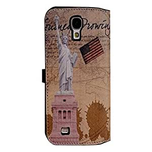 RC - Multifunction Wallet Style PU Leather Durable Case for Samsung Galaxy S4 I9500 (Assorted Colors)