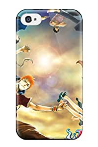 New Style 7750734K67183562 Ultra Slim Fit Hard Case Cover Specially Made For Iphone 4/4s- Bleach