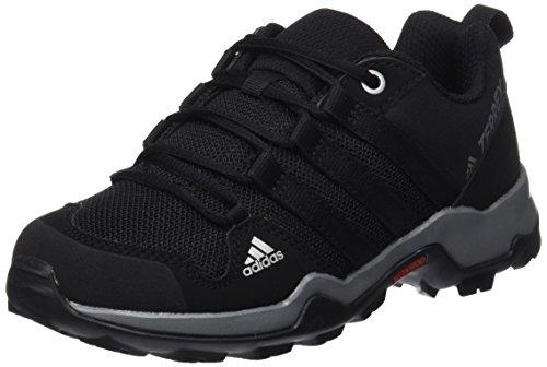 adidas Terrex Ax2r K, Zapatos de Senderismo Unisex Niños Negro (Negbas/negbas/grivis)