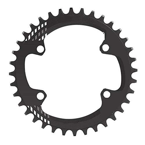 - Vbestlife Speed Bicycle Chainring,BCD 96MM Chainring MTB Bike Narrow Wide Round Oval Single Chain Ring for Shimano M6000 M7000 M8000(Black 36T: 15 cm)