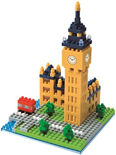 Nanoblock London Big Ben Building Kit