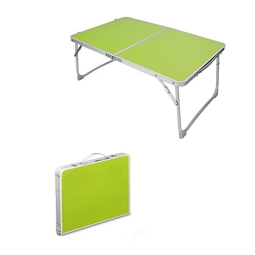 QWERTU Mesa Plegable para computadora portátil Escritorio de la ...