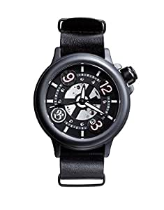 Bausele Adult Australian Designed - Comes with 2 easy interchangeable straps, Black