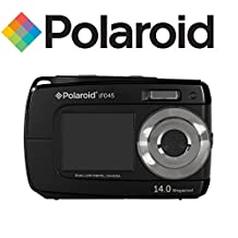Polaroid 14MP Dual Screen Waterproof Digital Camera with 2.7-Inch LCD, Color and Styles May Vary