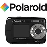 Polaroid Dual Screen Waterproof Digital Camera with 2.7-Inch LCD,- Color and Styles May Vary