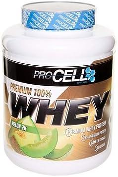 Whey 100% Protein Premium (Sabor Melón) 2 kg de ProCell ...