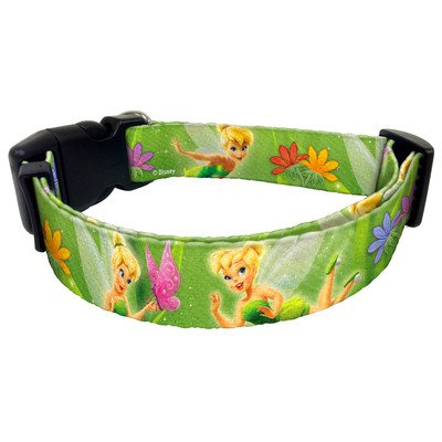 """Tinker Bell Dog Collar Large 1"""" by Platinum Pets"""