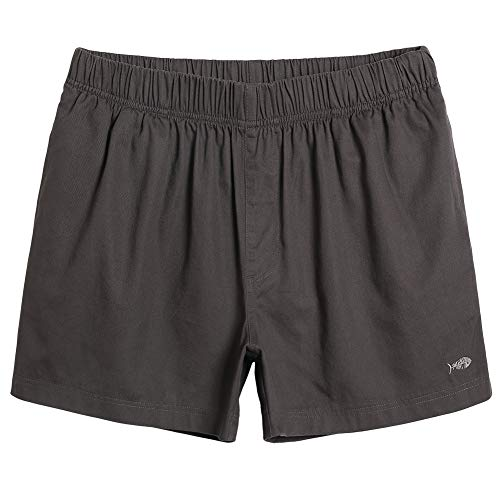- MaaMgic Mens Casual Shorts Cotton with Pocket Outfit Shorts for Men Athletic Pants Dark Grey Large