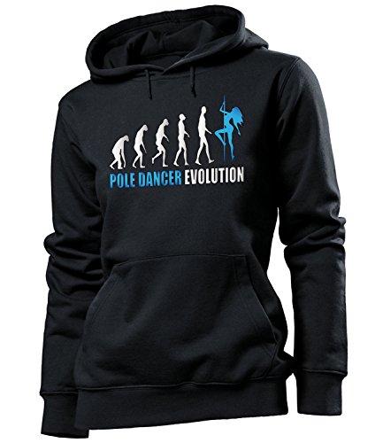 love-all-my-shirts - Sudadera con capucha - Manga Larga - Mujer negro/azul