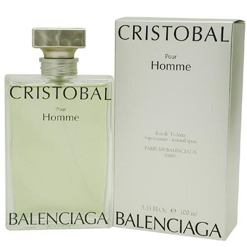 Cristobal By Balenciaga For Men. Eau De Toilette Spray 3.3 Ounces (Cristobal Perfume)