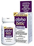 Alpha Betic for Diabetic Health, Advanced Multi-Vitamin, 30 Caplets
