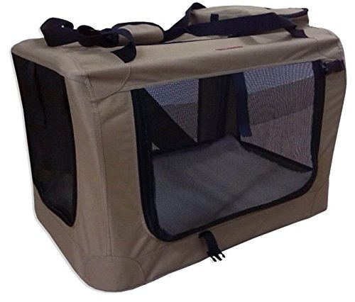 OSgoodway Pet Portable Soft Side Foldable Indoor Outdoor Crate & Kennel