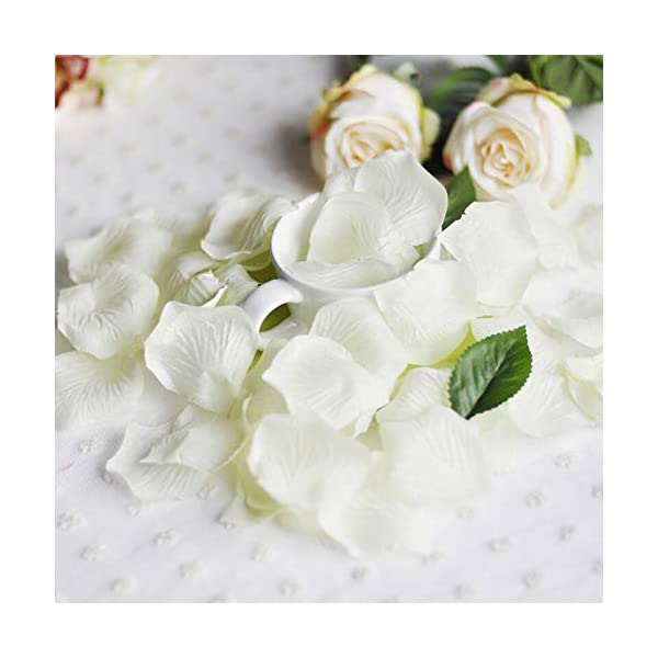 Livelynine-Artificial-Flowers-Ivory-for-Wedding-1000PCS-Petals-Silk-Rose-Petals-for-Romantic-Night-Wedding-Decorations-Flowers-Party-Valentines-Day-Events-Home-Decorations-for-Ceremony-and-Crafts