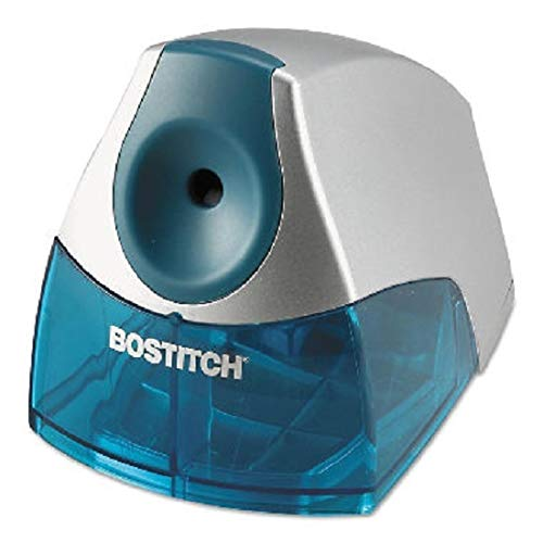 Stanley Bostitch Compact Desktop Electric Pencil Sharpener - Blue by BOSTITCH ()