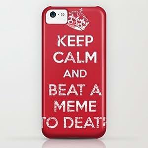 Society6 - Keep Calm And Beat A Meme To Death iPhone & iPod Case by Jonah Block wangjiang maoyi
