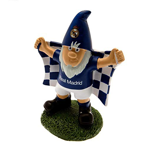 Real Madrid FC Official Garden Gnome (One Size) (Blue/White) (Fc Garden Gnome)
