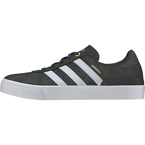 Adidas Skateboarding Busenitz Vulc 7 Negro Utility Grey/Crystal White/Gold Metallic