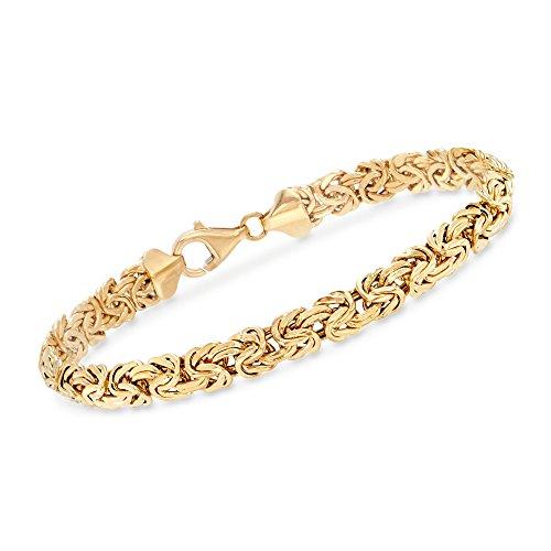 Ross-Simons 18kt Yellow Gold Byzantine (Yellow Gold Byzantine Bracelet)
