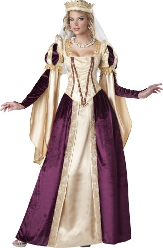 Women's Renaissance Princess Costume for Halloween 2017