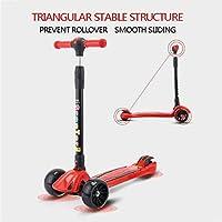 Amazon.com : CHHMAELOVE Three Wheel Tri Scooter for Kids,3 ...