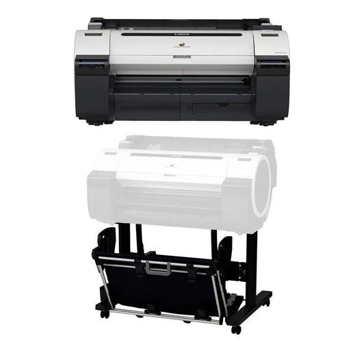 "Canon imagePROGRAF iPF670 24"" Large-Format Inkjet Photo Printer without Stand, - Bundle With Canon ST-26 Stand for imagePROGRAF iPF670"