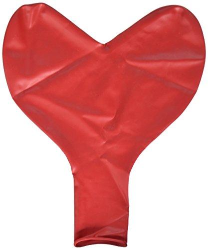 (Qualatex 44353 Hearts - Red Latex Balloons, 36