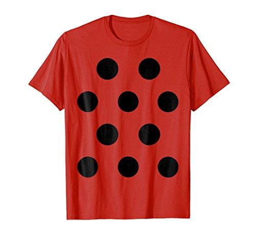 Ladybug Costume Shirt - Cute Halloween Costume Lady Bug Tee