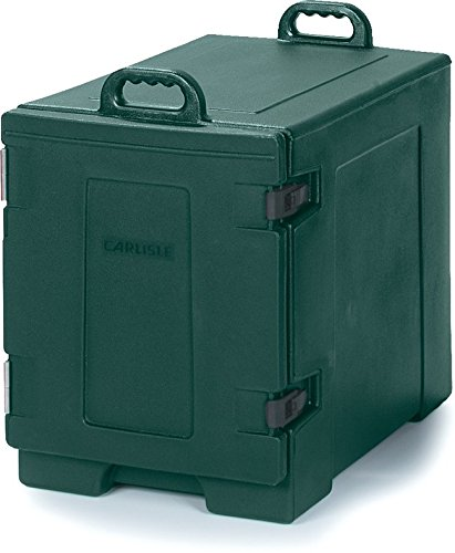 Carlisle PC300N08 Cateraide End-Loading Insulated Food Pan Carrier, 5 Pan Capacity, Forest Green by Carlisle