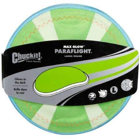 Chuckit Max Glow Paraflight Large