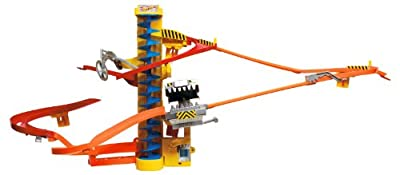 Hot Wheels Wall Tracks Power Tower Trackset from Mattel