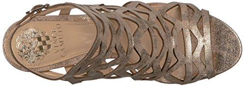 Vince Camuto Women's Prisintha Dress Sandal Metal Beige aULYQNizao