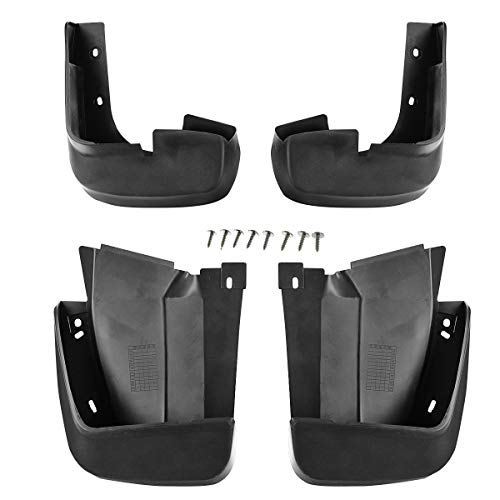 A-Premium Splash Guards Mud Flaps Mudflaps for Honda Civic 2006-2011 Sedan Front and Rear 4-PC Set
