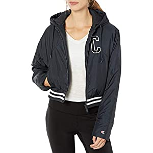 Champion LIFE Women's Fashion Jacket with Back Block Text