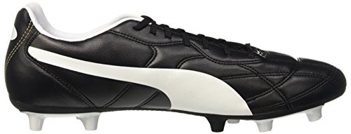 Puma Classico Ifg - Chaussures de Football - Homme - Noir (Black-white 01) - 40 EU (6.5 UK)