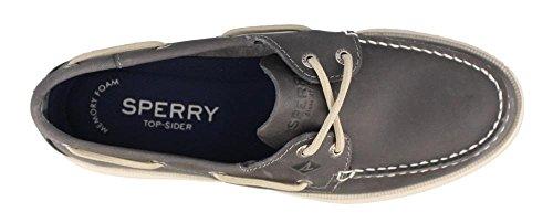 Sperry Top-sider Herenquiz 2 Eye Boat Shoe Grey