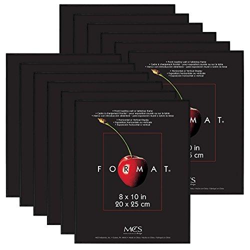 - MCS 8x10 Inch Format Frame 12-Pack, Black (65553) (Certified Refurbished)