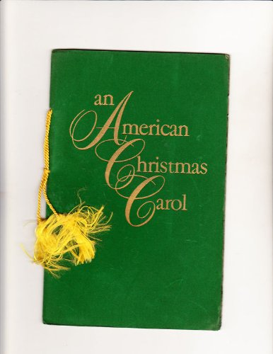 Christmas card (booklet) from The Paterson Steel Co1956 An American Christmas Carol
