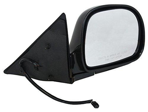 NEW RH DOOR MIRROR FITS CHEVY 95-97 BLAZER 94-97 S10 SPORT UTILITY POWER W/O HEAT GM1321127 17801666 62009G GM30ER GM1321127 (Blazer Door Mirror)